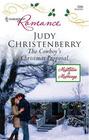 The Cowboy's Christmas Proposal (Mistletoe & Marriage, Bk 1) (Harlequin Romance, No 3986)