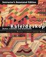 Kaleidoskop Kultur Literatur Und Grammatik