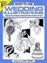 Ready-to-Use Wedding Illustrations (Dover Clip Art Series)