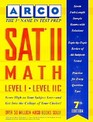 Preparation for the Sat II Math Level Ic-IIC
