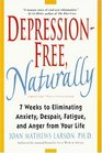 Depression-Free Naturally  7 Weeks to Eliminating Anxiety Despair Fatigue and Anger from Your Life