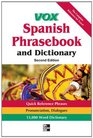 Vox Spanish Phrasebook and Dictionary 2nd Edition