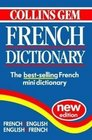 Collins Gem French Dictionary French-English English-French