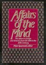 Affairs of the Mind The Salon in Europe and America from the Eighteenth to Twentieth Century