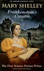Mary Shelley Frankenstein's Creator  First Science Fiction Writer