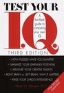 Test Your IQ A Funfilled Guide to Computing Your Own IQ