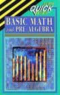 Basic Math and Pre-Algebra (Cliffs Quick Review)