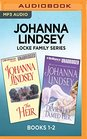 Johanna Lindsey Locke Family Series Books 1-2 The Heir  The Devil Who Tamed Her