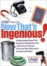 Yankee Magazine's Now That's Ingenious