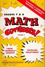 Math Contests - Grades Seventh and Eighth School Years  1977 - 78 Through 1981 - 82