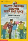 Encyclopedia Brown Sets The Pace (Encyclopedia Brown, Bk 15)