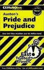 Cliffs Notes Austen's Pride and Prejudice