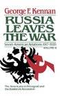 The Decision to Intervene Soviet-American Relations 1917-1920 Vol 2