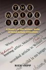 The Write Stuff A History of the Writers' Guild of Great Britain 1959-2009