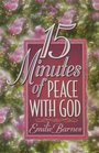 15 Minutes of Peace With God