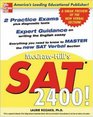 SAT 2400  A Sneak Preview of the New SAT English Test