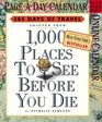 1000 Places to See Before You Die Calendar 2006