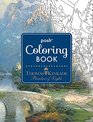 Posh Adult Coloring Book Thomas Kinkade Designs for Inspiration and Relaxation