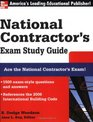 National Contractor's Exam Study Guide