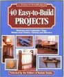 40 Easy Projects to Build