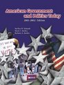 American Government and Politics Today 2001/With Infotrac