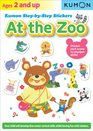 Kumon Step-by-Step Stickers  At the Zoo