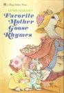 Cyndy Szekeres' Favorite Mother Goose Rhymes (A Big Golden Book)
