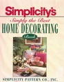 Simply the Best Home Decorating Book
