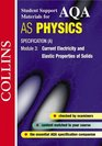 AQA  Physics Current Electricity and Elastic Properties of Solids