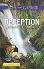 Deception (Mountain Cove, Bk 6) (Love Inspired Suspense, No 539) (Larger Print)