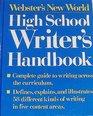 Webster's New World High School Writers Handbook