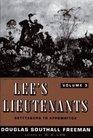 Lee's Lieutenants A Study In Command Volume III Gettysburg to Appomattox