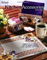 Plastic Canvas Kitchen Accessories