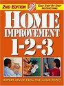 Home Improvement 1-2-3 : Expert Advice from The Home Depot (Home Depot ... 1-2-3)