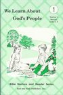 We Learn About God's People Teachers 1  Teacher's Manual Units 45