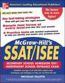 McGraw-Hill's SSAT and ISEE High School Entrance Examinations
