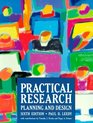 Practical Research Planning and Design