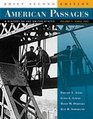 American Passages A History of the United States Volume 2 Since 1863