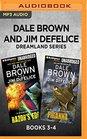 Dale Brown and Jim DeFelice Dreamland Series Books 3-4 Razor's Edge  Piranha