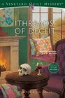 Threads of Deceit (Vineyard Quilt Mysteries, Bk 1)