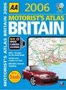 Aa Motorists Atlas Britain 2006