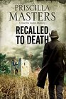 Recalled to Death A Martha Gunn Police Procedural