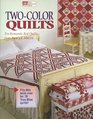Two-Color Quilts Ten Romantic Red Quilts and Ten True Blue Quilts