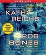 206 Bones (Temperance Brennan, Bk 12) (Audio CD) (Unabridged)
