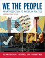 We the People An Introduction to American Politics Seventh Shorter Edition