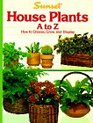 House Plants A to Z