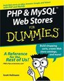 PHP  MySQL Web Stores For Dummies