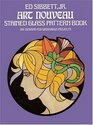 Art Nouveau Stained Glass Pattern Book (Dover Pictorial Archive Series)
