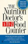 The Nutrition Doctor's A-to-Z Food Counter