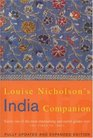 Louise Nicholson's India Companio With a Section on Pakistan